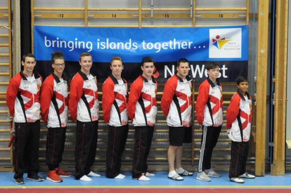 Jersey's Men Gymnastics Squad
