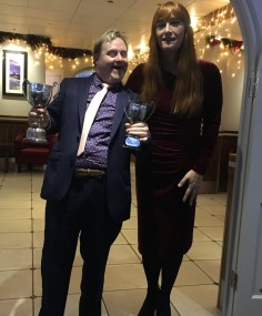 Darren Renouf with Roisin Pitman