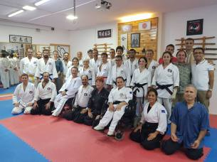 The group after an aikido session