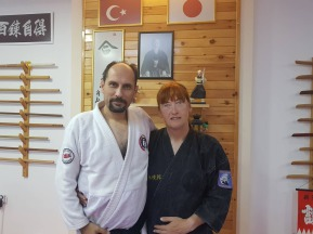 Sensei Engin Ergin with Roisin