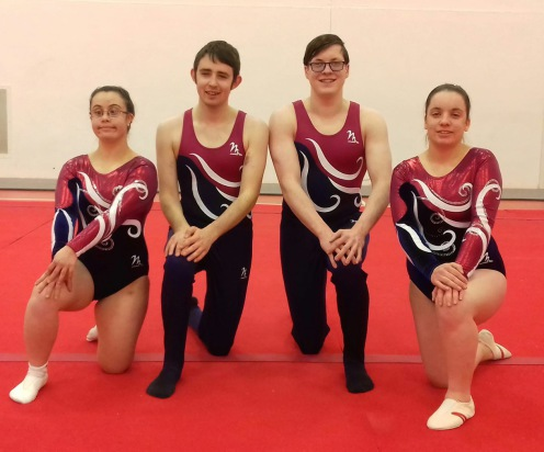 The Jersey Special Gym World Games team